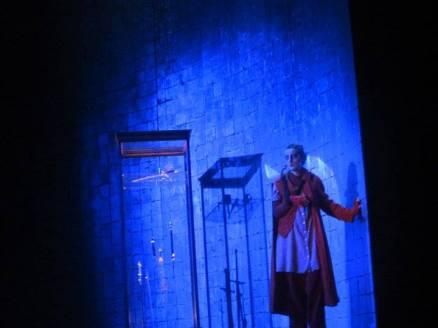 Die Frau ohne Schatten (© Annemie Augustijns)